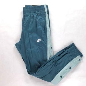 Nike AF1 Woven Snap Jogger Pants Light Blue White